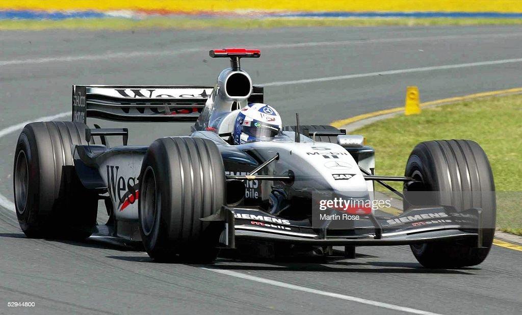Formel 1: GP von Australien 2003 : News Photo
