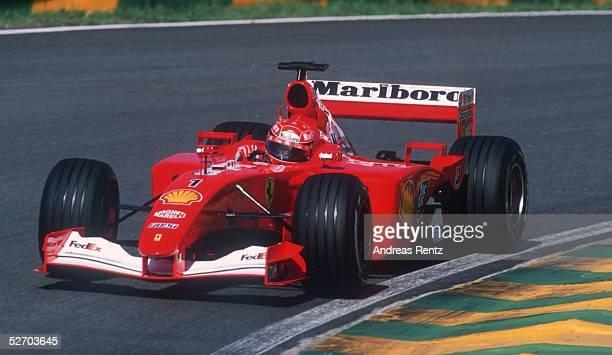 GP von BRASILIEN 2001 in Sao Paulo Michael SCHUMACHER/GER FERRARI