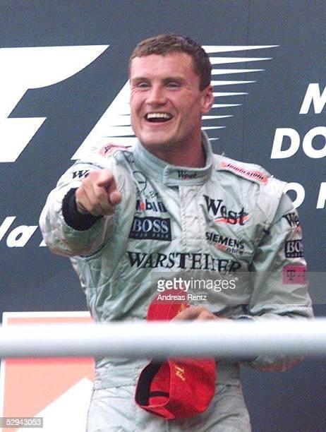 GP von BRASILIEN 2001 Sao Paulo Sieger David COULTHARD/McLAREN MERCEDES