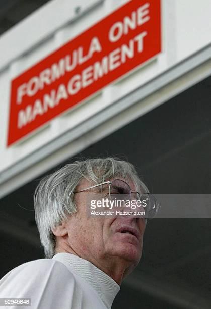 GP von Brasilien 2003 Sao Paulo FIA Vizepraesident Bernie ECCLESTONE