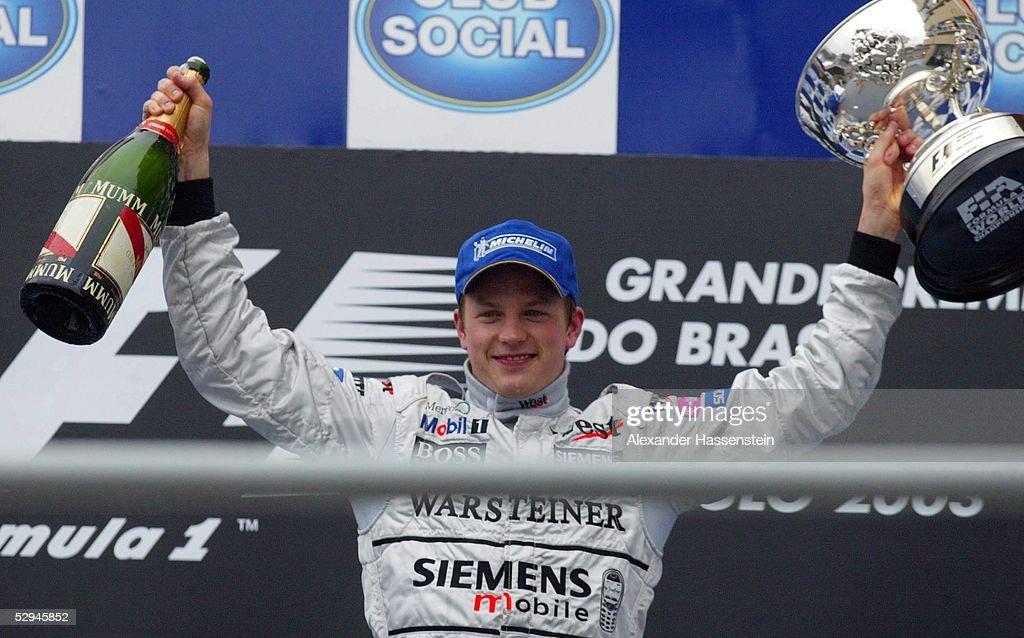 Motorsport/Formel 1: GP von Brasilien 2003 : News Photo