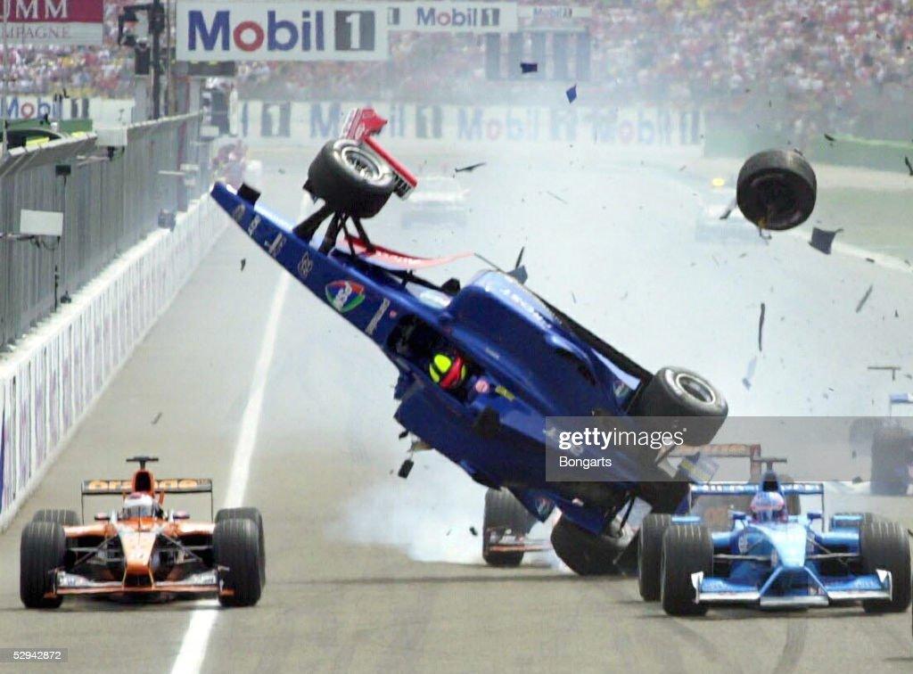 FORMEL 1: GP VON DEUTSCHLAND 2001 : News Photo