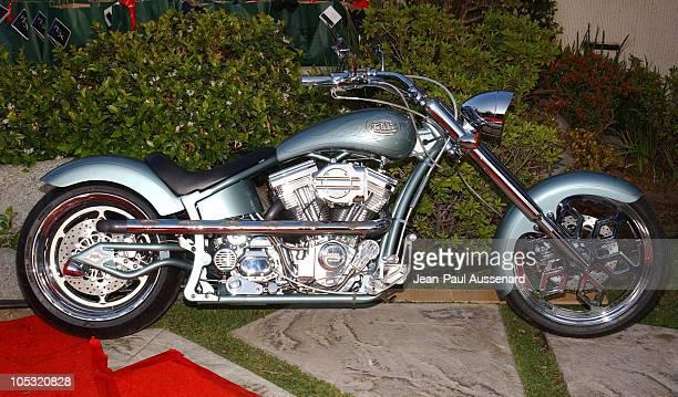 Von Dutch Custom Harley Davidson during Von Dutch Designer Christian Audigier's Birthday Celebration at Private residence in Hollywood California...