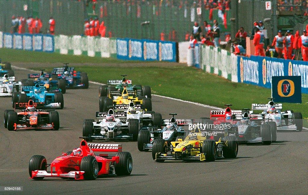 FORMEL 1: GP von ENGLAND 2000 : News Photo