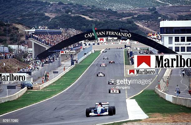 Von EUROPA 1994 Jerez; UEbersicht Rennstrecke in Jerez/Spanien