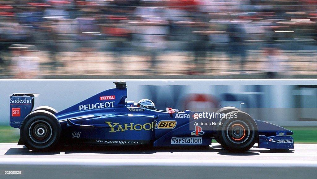 ALESI/FORMEL 1: GP von FRANKREICH 2000 : News Photo