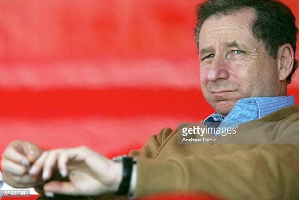 GP von FRANKREICH 2002 Magny Cours RENNLEITER Jean TODT FERRARI