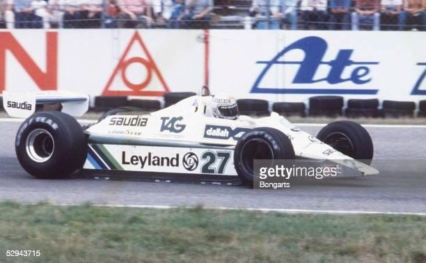 GP von Hockenheim 1982 Hockenheim Williams FW 07 oder FW 08