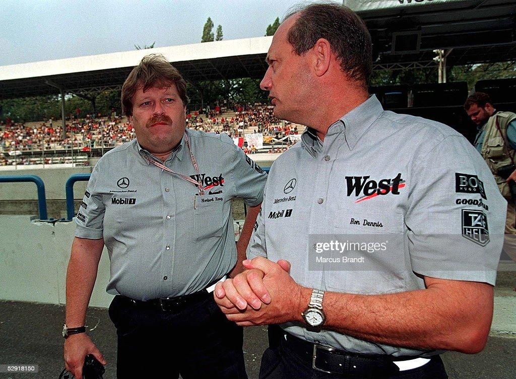 FORMEL 1: GP von ITALIEN 1997, Monza, 07.09.97 : News Photo