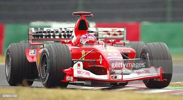 GP von Japan 2003 Suzuka Michael SCHUMACHER/GER Ferrari