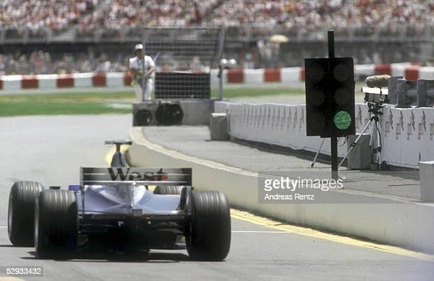 GP von KANADA 2001 Montreal SPEZIAL AMPEL AN EINER BOXENAUSFAHRT