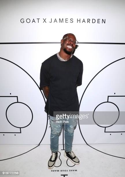 Von Miller attends GOAT and James Harden Celebrate NBA AllStar Weekend 2018 at Poppy on February 17 2018 in Los Angeles California