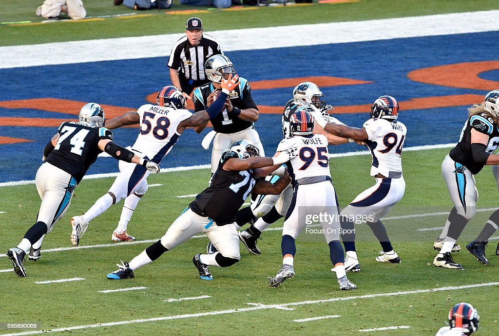 Super Bowl 50 - Denver Broncos v Carolina Panthers : News Photo