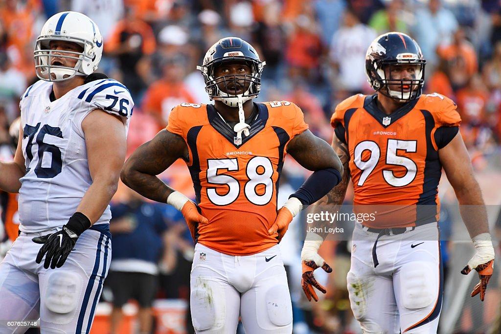 Denver Broncos vs. Indianapolis Colts, NFL Week 2 : News Photo