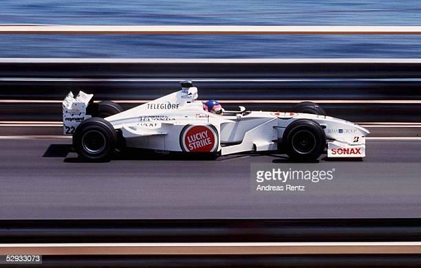 GP von MONACO 2000 Monte Carlo Jacques VILLENEUVE/BAR HONDA