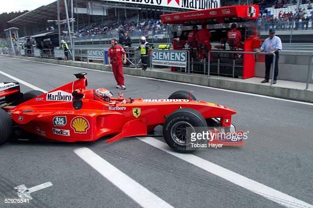 GP von OESTERREICH 1999 Spielberg/Zeltweg/AUT Eddie IRVINE/NIRL FERRARI