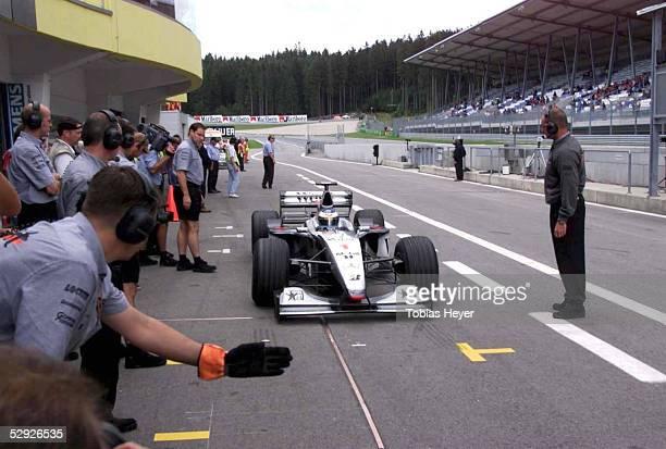 GP von OESTERREICH 1999 Spielberg/Zeltweg/AUT Mika HAEKKINEN /FIN McLAREN MERCEDES