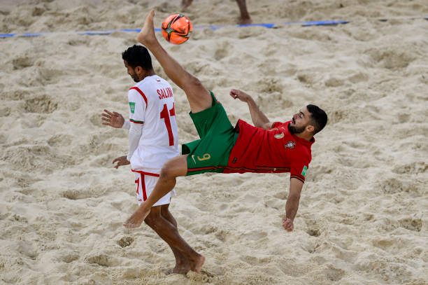 RUS: Portugal v Oman - FIFA Beach Soccer World Cup 2021
