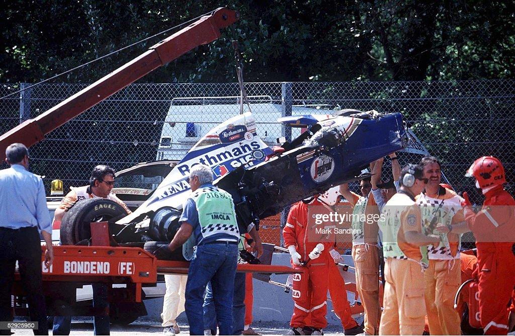 GP von SAN MARINO 1994 in Imola; AUTOWRACK von Ayrton SENNA/BRA