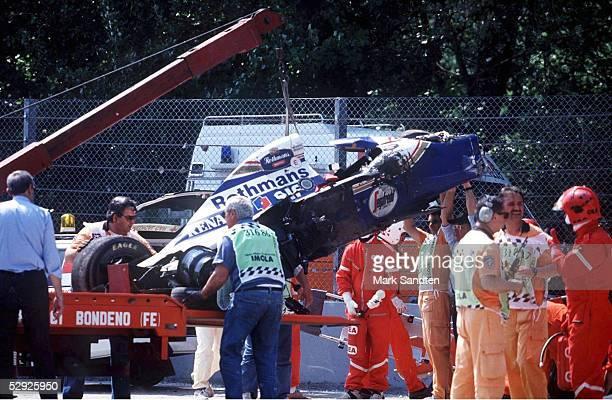 GP von SAN MARINO 1994 in Imola AUTOWRACK von Ayrton SENNA/BRA