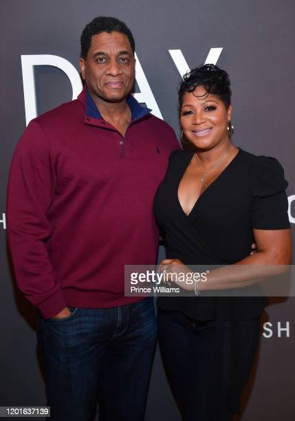 "Von Scales and Trina Braxton-Scales attend ""Cherish The Day"" Launch Party at The Stave Room on January 23, 2020 in Atlanta, Georgia."