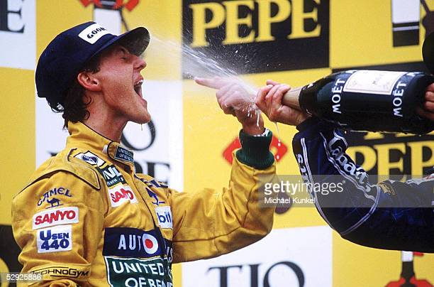 GP von SPANIEN 1992 Barcelona/ESP Michael SCHUMACHER/GER Benetton