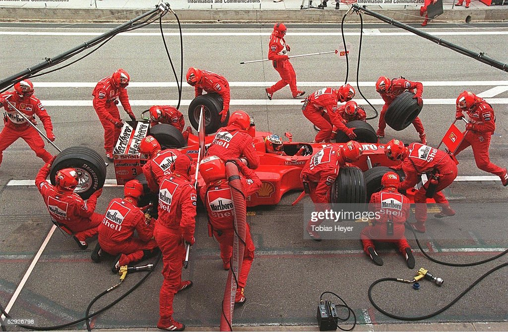FORMEL 1: GP von SPANIEN 1999 : News Photo