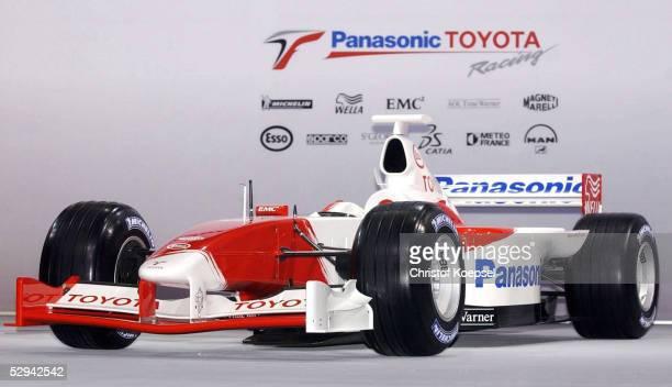 PRAESENTATION von TOYOTA 2001 Koeln EINSTIEG von TOYOTA in die Formel 1
