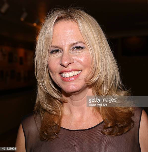 Vonda Shepard attends the after performance party for the New York City Center Encores! Off-Center production of 'Randy Newman's FAUST: The Concert'...