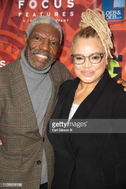 Vondie Curtis Hall and Kasi Lemmons attend the Greenlight Women For Black History Month Brunch Celebration at The London on February 17 2019 in West...