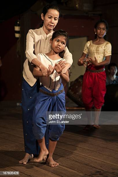 Vong Metry Director and teacher at Apsara Arts Association a local NGO created in 1998 with the mission of training young Cambodians music dance and...