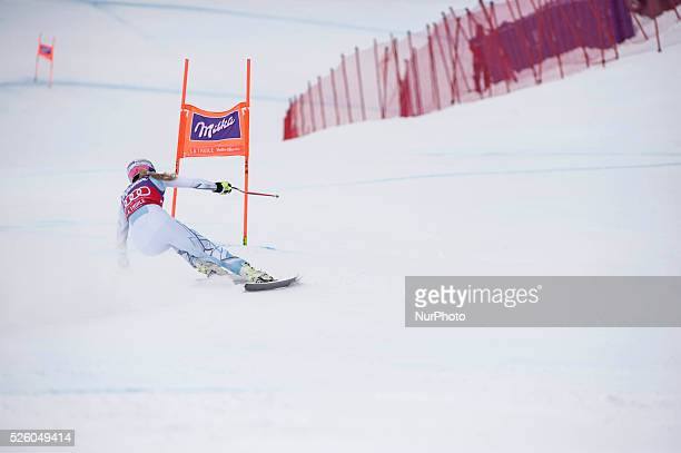Vonn Lindsey USAAUDI FIS SKI WORLD CUP La ThuileValle D'Aosta 8th Ladies' downhill on February 2016