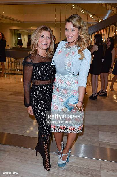 Vonna Bitove and Jenna Bitove attend the Believe In Fashion Presents Erdem at Arcadian Court on May 8, 2014 in Toronto, Canada.