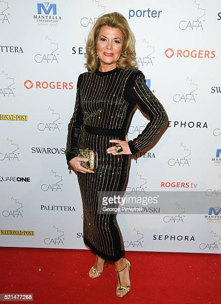 Vonna Bitove attends the 3rd Annual Canadian Arts And Fashion Awards held at the Fairmont Royal York Hotel on April, 2016 in Toronto, Canada.