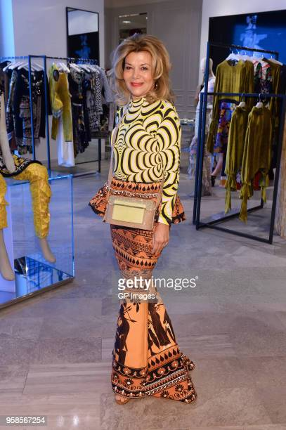 Vonna Bitove attends the Designer Mary Katrantzou visit at The Room at Hudson's Bay on May 14, 2018 in Toronto, Canada.