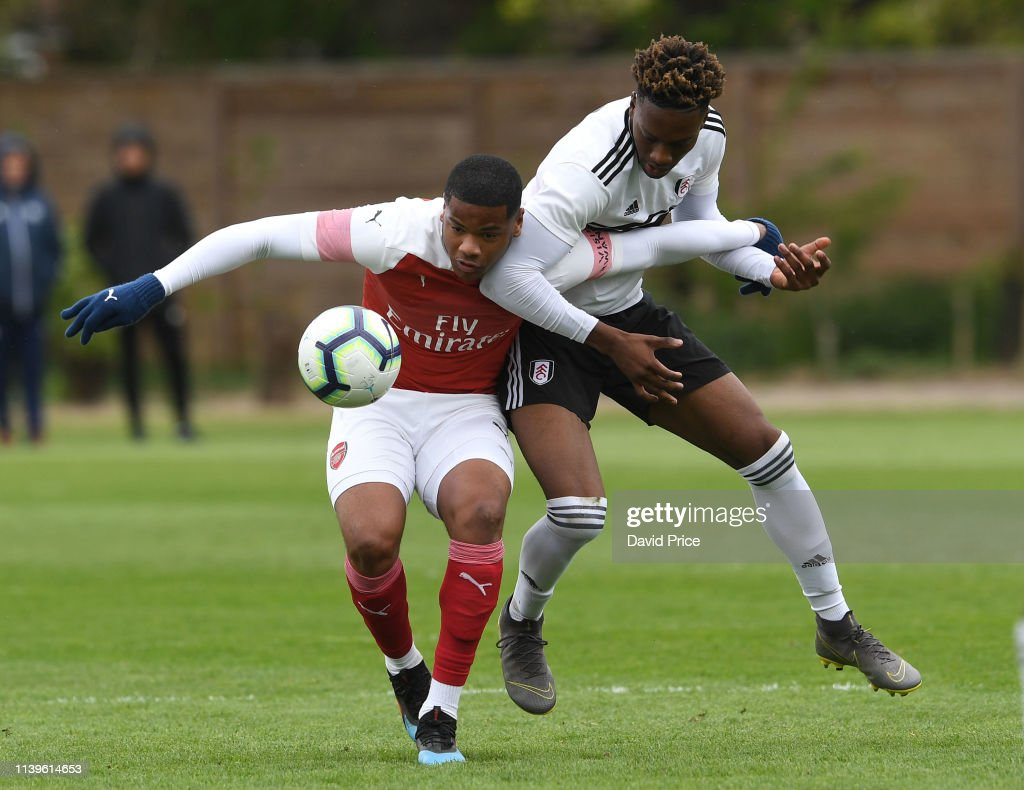 Fulham v Arsenal - U18 Premier League : News Photo