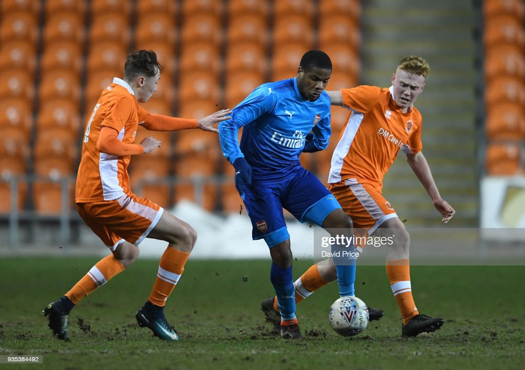 Blackpool U18 v Arsenal U18: FA Youth Cup, Semi-Final,First Leg