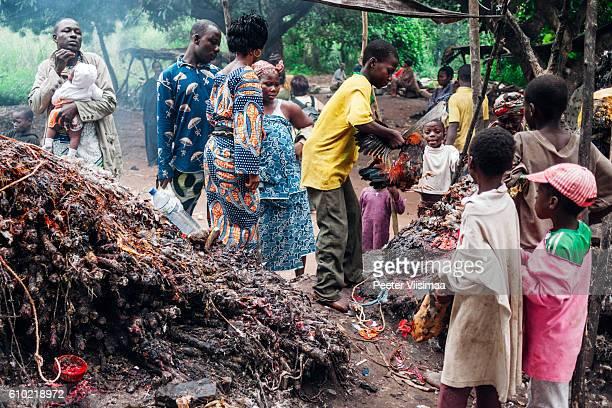 Voodoo ceremonies. Benin, West Africa.