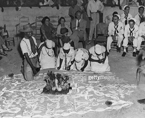 Voodoo ceremony in Haiti Filed 7/1/69