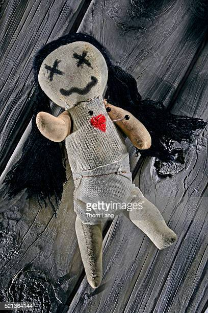 voodoo doll - voodoo doll stock photos and pictures
