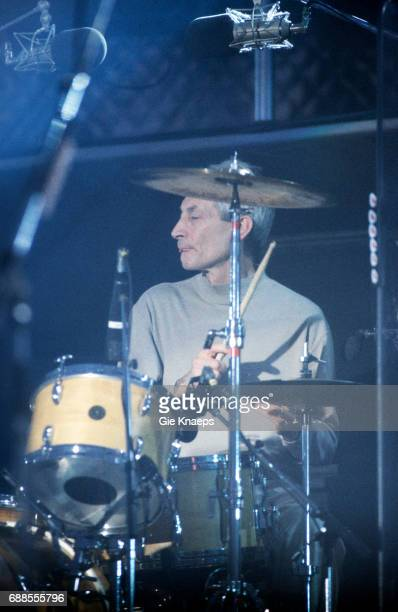 Voodoo Lounge Tour Charlie Watts The Rolling Stones Festivalpark Werchter Belgium