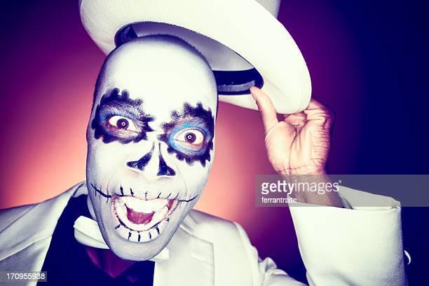 Voodoo Man Saluting
