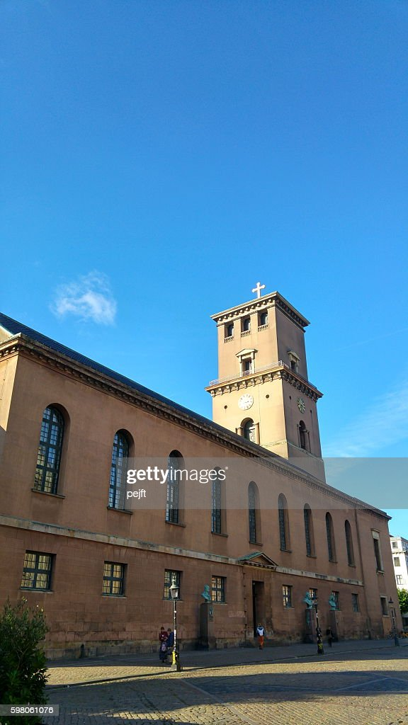 Vor Frue Kirke - Copenhagen : Stock Photo
