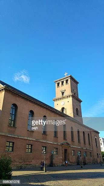 vor frue kirke - copenhagen - pejft stock pictures, royalty-free photos & images