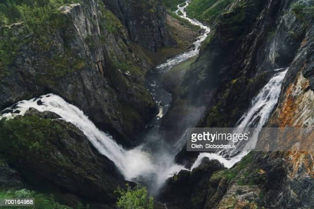 Voringfossen Wasserfall in Bergen in Norwegen
