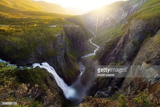Voringsfossen , Norway ...