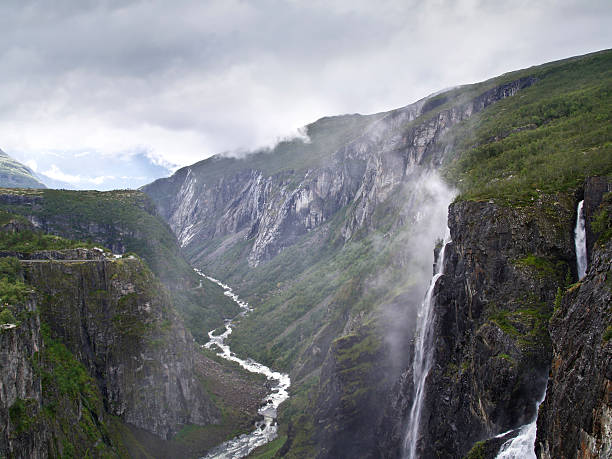 Voringsfossen Waterfalls