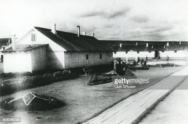 Vorkuta Gulag one of the major Soviet labor camps Russia Komi Republic 1945