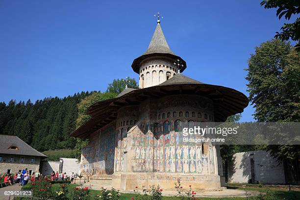 Voronet is a monastery in Romania, located in the town of Gura Humorului, Moldavia. It is one of the famous painted monasteries from southern...