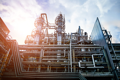 Voronezh Synthetic Rubber Plant, Chemical production of thermoplastic. Columns of butadiene cleaning and drying solvents 1059809444
